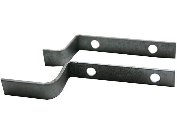 Z крепление для москитной сетки стальное
