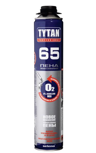Профессиональная монтажная пена TYTAN Professional O2 65